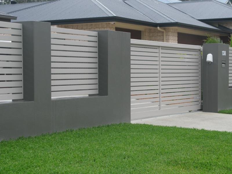 Home fence designs