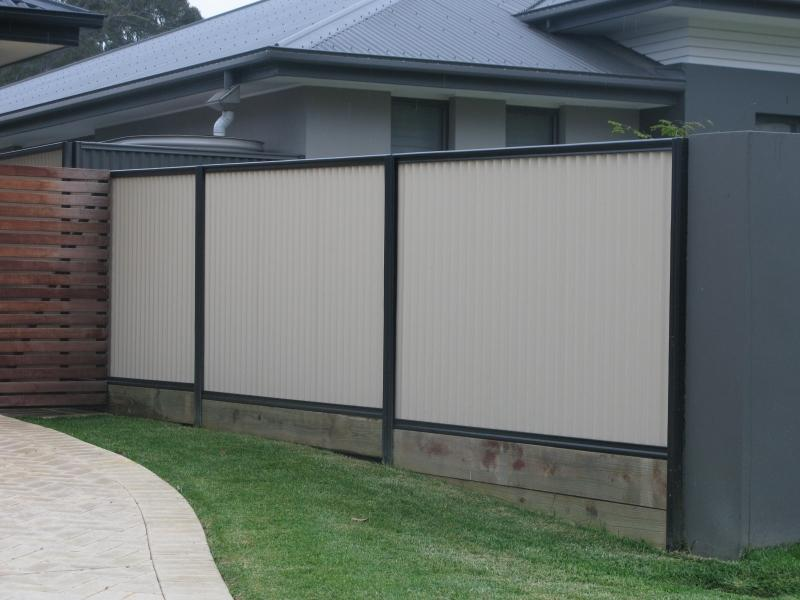 how to add design features to colorbond fences