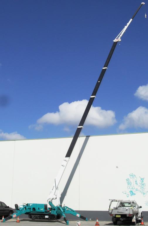 Svsr Mini Crane Hire Service Sydney Western Sydney And