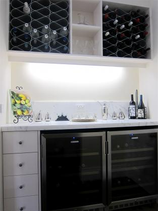 Wine Rack Ideas by AKL Designer Kitchens Pty Ltd