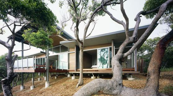 House Exterior Design by Tim Ditchfield Architects
