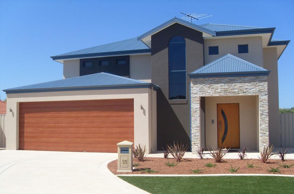 Style Ideas Exteriors Double Storey House Designs
