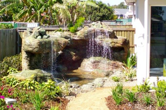 Water Feature Ideas by Lifestyle Solutions Centre Landscaping & Pools