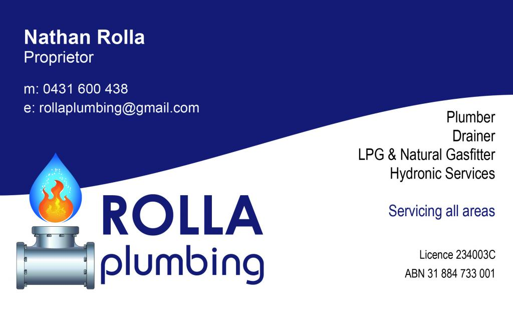 Rolla Plumbing Pty Limited Central Coast Lake