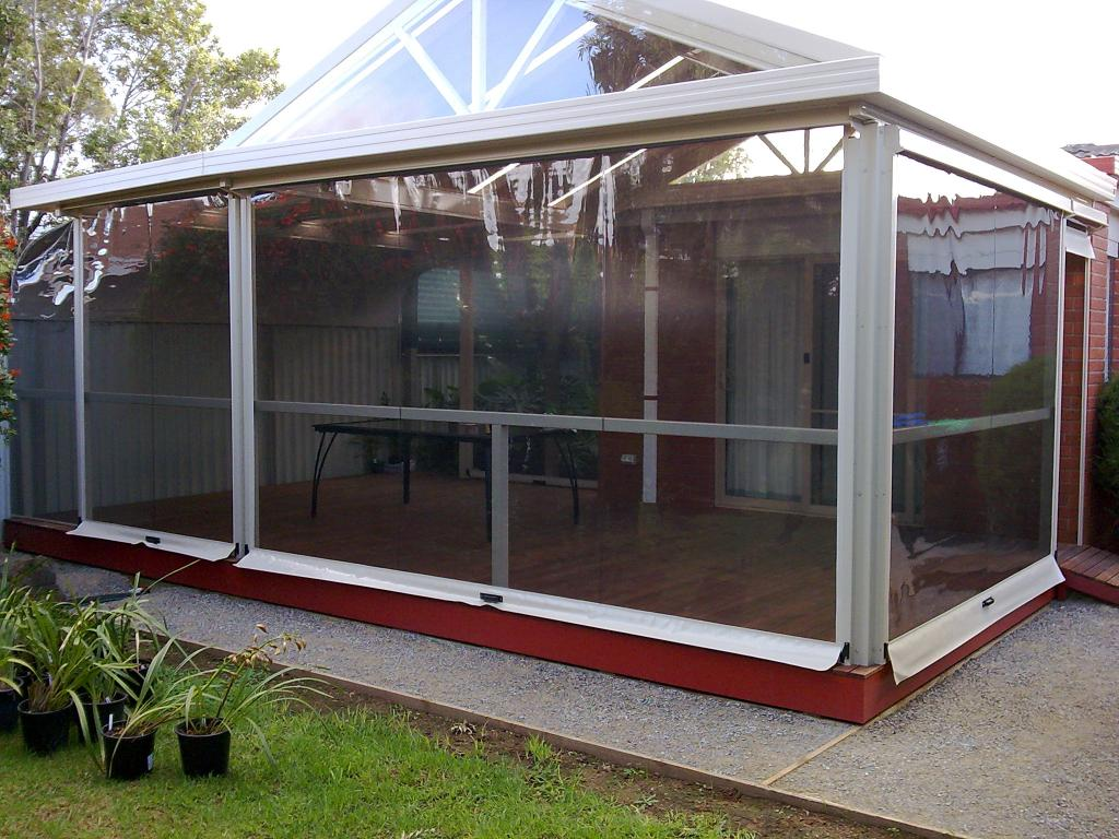 Bistro Blinds Clear Pvc Melbourne Awnings Amp Shade Systems