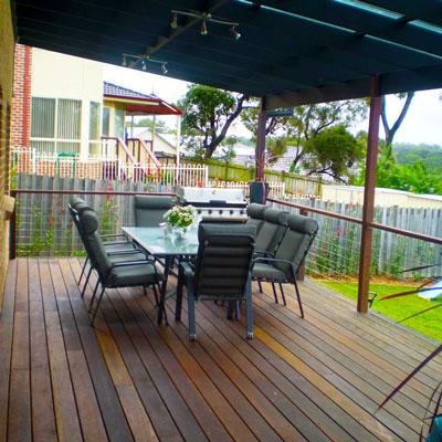 Large Deck For Outdoor Entertainment Child 39 S Play Area
