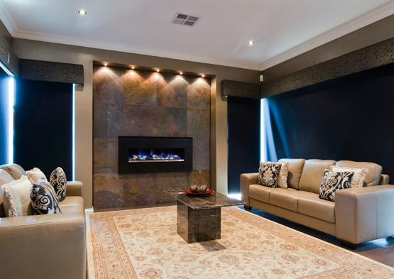 Feature Wall Ideas by Distinction Homes