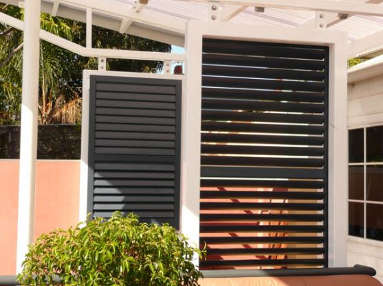 Outdoor Shutter Designs  by Affordable Shutters and Blinds