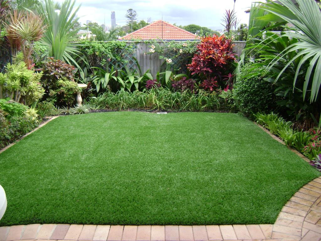 Installing artificial grass for Landscape design courses melbourne