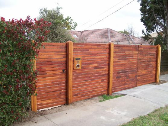 Timber Fencing Designs by Taylor Fencing