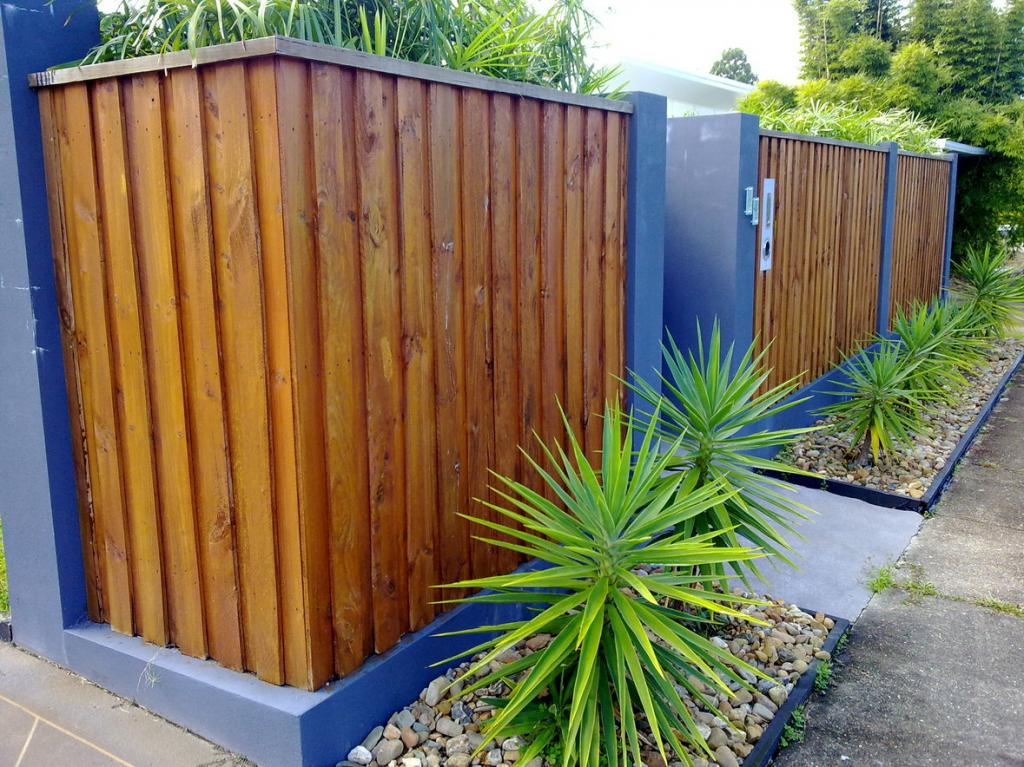 Timber Fencing Inspiration Protech Property Solutions