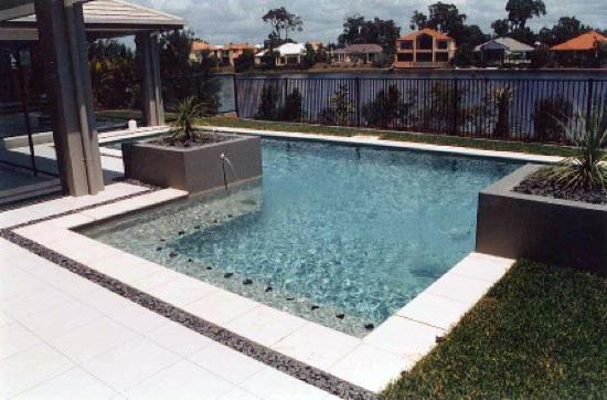 Amazing Concrete Pool Designs Ideas Within Concrete Pool Designs