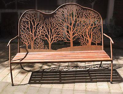 Outdoor Furniture by Overwrought Garden Art