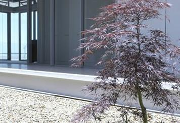 Modern simplicity bellevue hill for Garden design yates