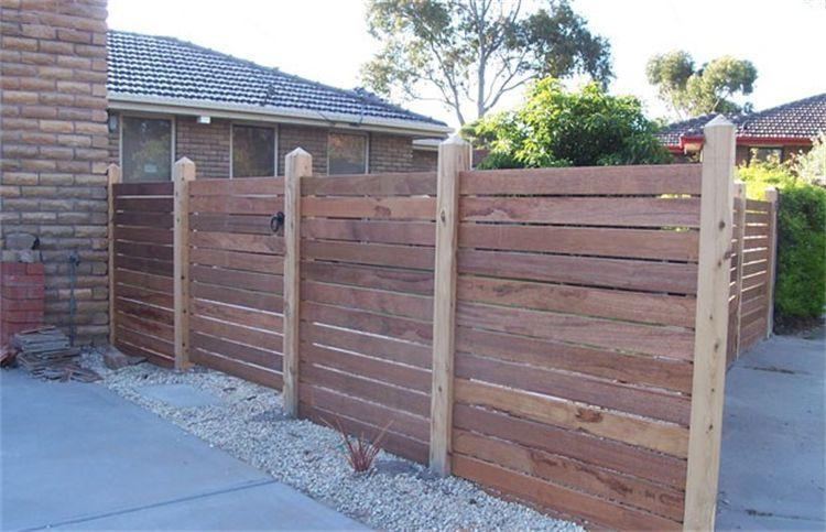 Timber Fencing Inspiration Ezy Budget Fencing
