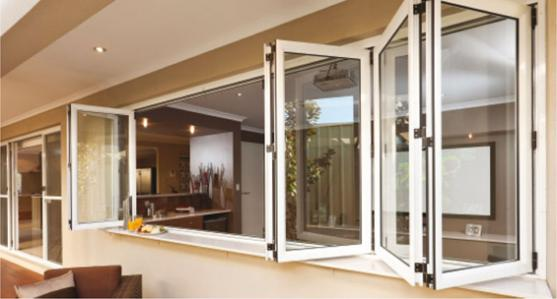 bi fold window designs by affinity windows bgc - Window Design Ideas