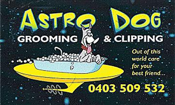 Astro Dog Grooming Clipping