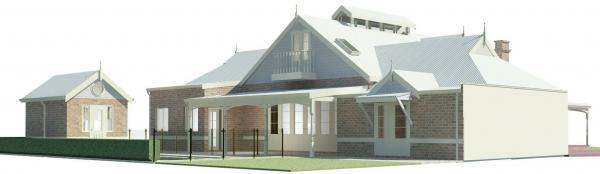 Double storey addition to heritage building (Mount Lawley)