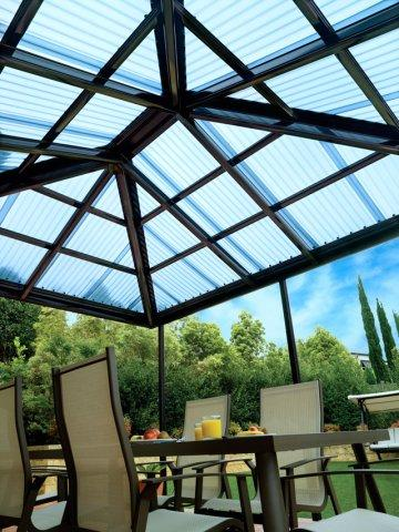 Polycarbonate Roof Material Opal Building Services