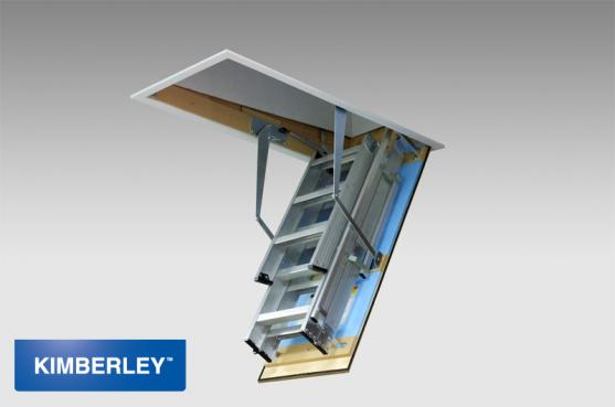Attic Ladder Ideas by Kimberley Products - Australian Building Hardware