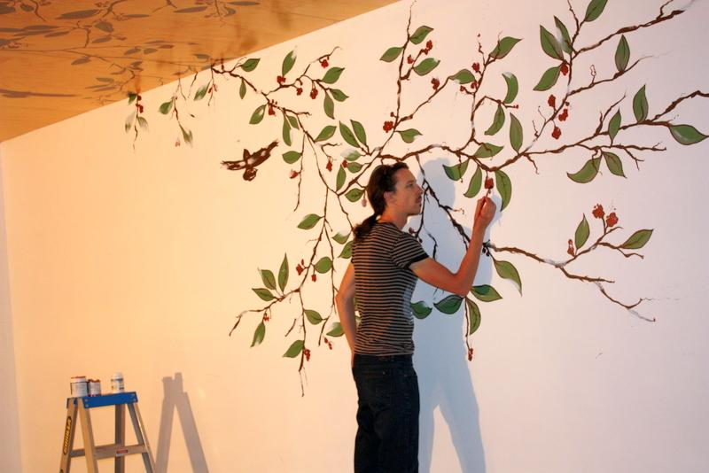 Hand Painted Mural