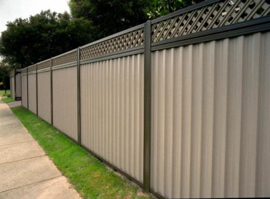 Colorbond Fencing Desgins by Steel Flooring Fencing Systems Pty Ltd