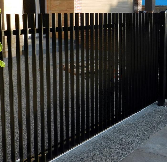 Contemporary Home Exteriors: Fences Inspiration - Rosebud Gates - Australia