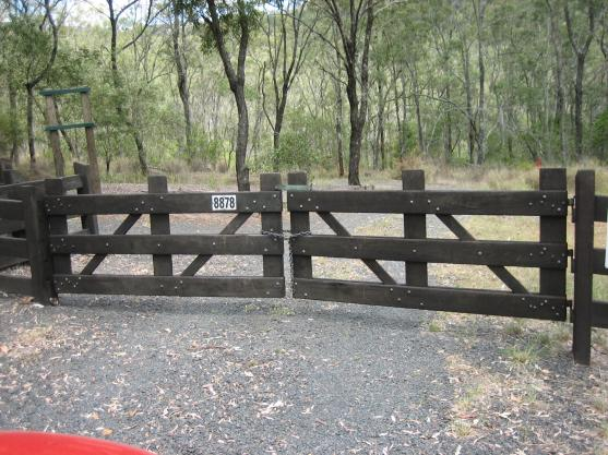 Pictures of Gates by Unique Timber Fencing