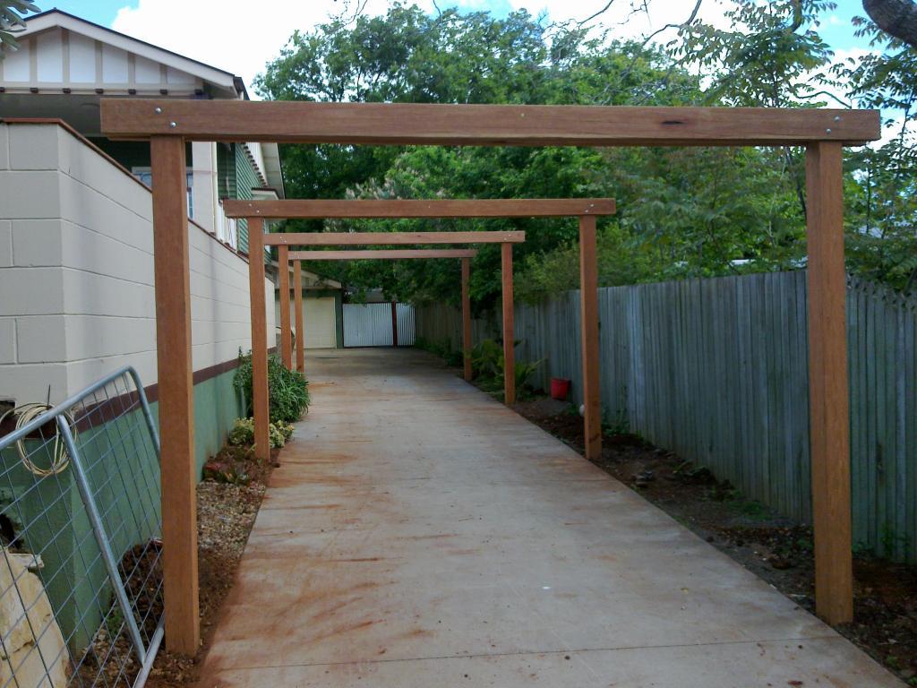Unique Timber Fencing Toowoomba Queensland 7