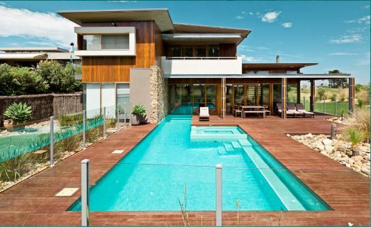 Pool Decking Design Ideas by Acquavita Pools and Spas