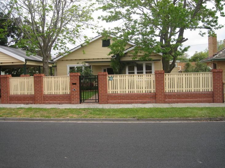 Style Ideas Fences Melbourne Brick and Block