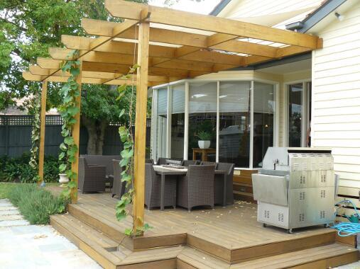 Pergola Ideas by The Odd Job Men Handyman Service