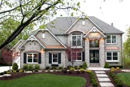 House Exterior Design by DJK Homes