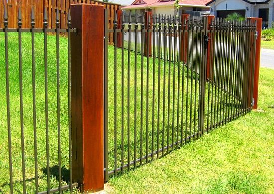 Fence design ideas get inspired by photos of fences from for Pool fence design qld
