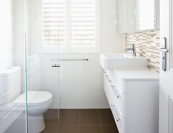 Just bathroom renovations servicing sydney 1 reviews for Small bathroom reno