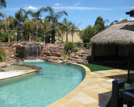Landscape design pool landscaping ideas brisbane for Pool design brisbane