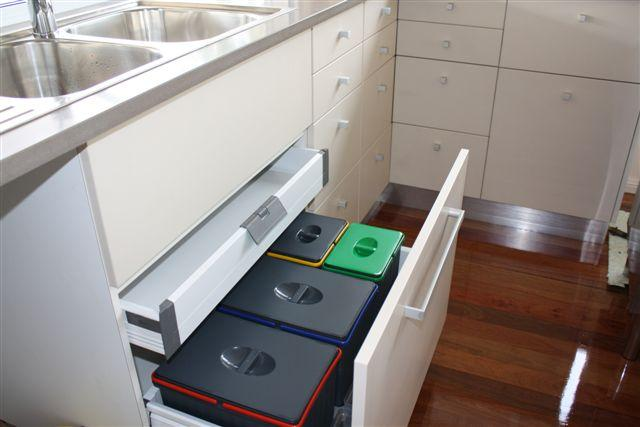 Kitchen Bins Inspiration Total Kitchen Worx Australia