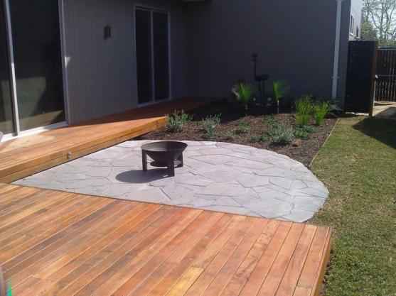 Timber Decking Ideas by Greenside Landscapes
