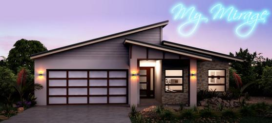 House Exterior Design by MyStyle Homes QLD Pty Ltd