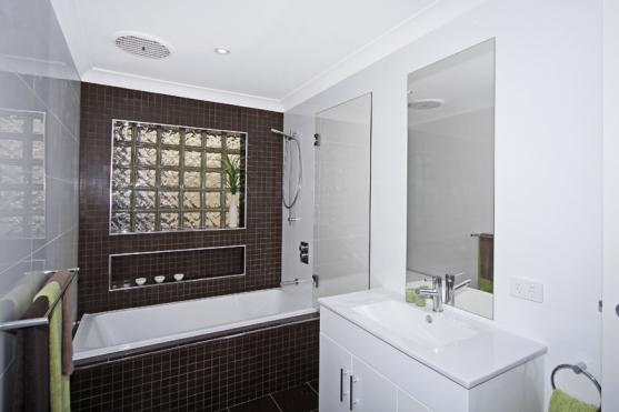 Bath Shower Combo ideas by Glendale Constructions Builders Pty Ltd