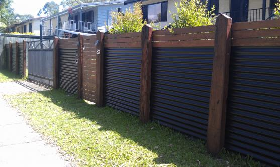 Colorbond Fencing Desgins by Bettaline Fencing