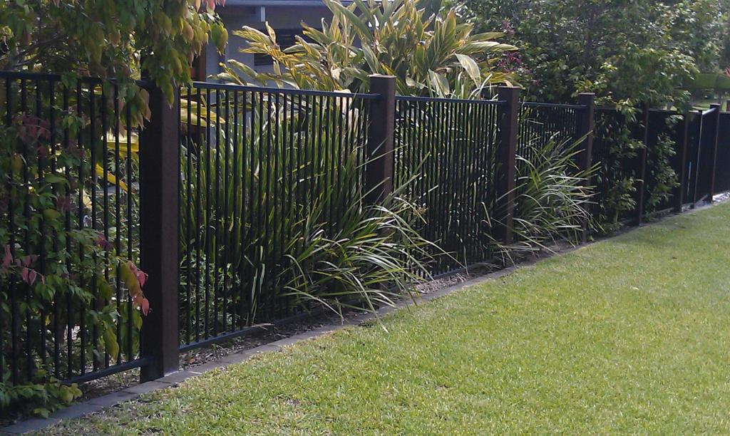 House Backyard Fence : Fences Inspiration  Bettaline Fencing  Australia  hipagescomau