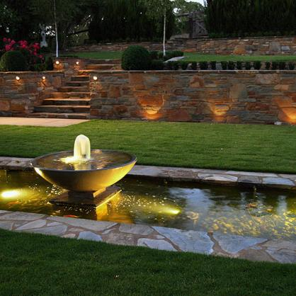 Water feature design ideas get inspired by photos of for Garden designs with water features