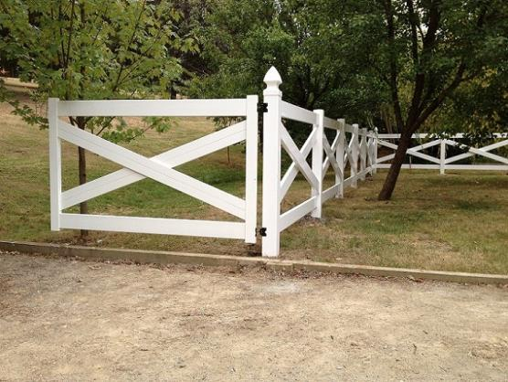 Pictures of Gates by Mathos PVC Fencing