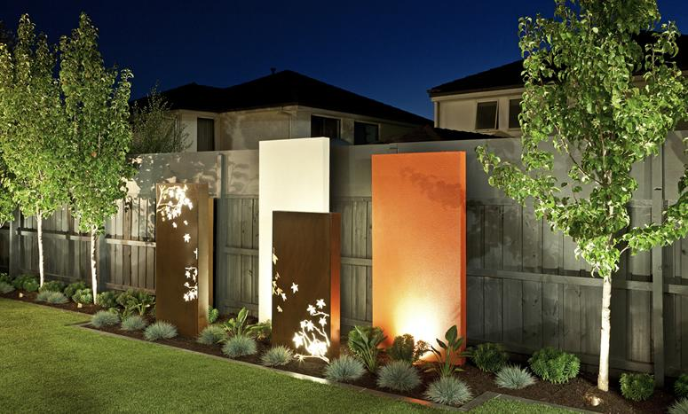 Landscaping ideas for small yards perth for Front yard garden designs australia