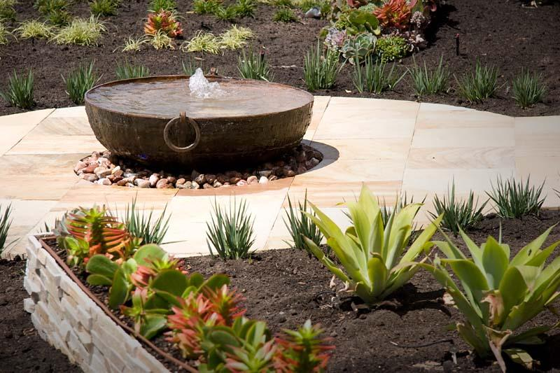 Garden design water feature ideas home decor and for Garden design features