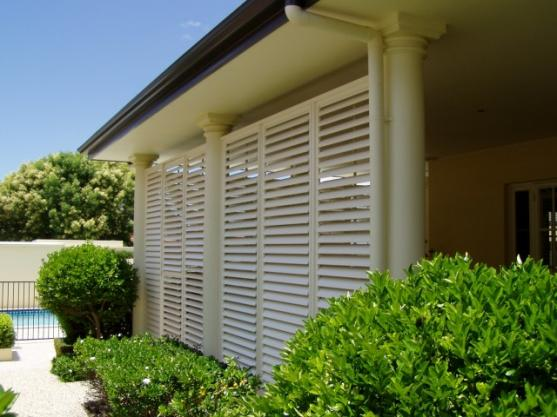 Outdoor Shutter Designs  by Absolute Balustrades