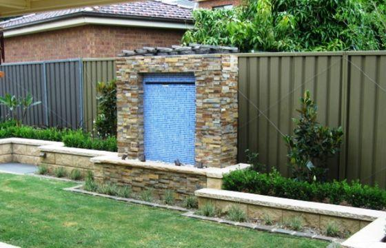Water features inspiration creative nature landscape for Gardening services adelaide