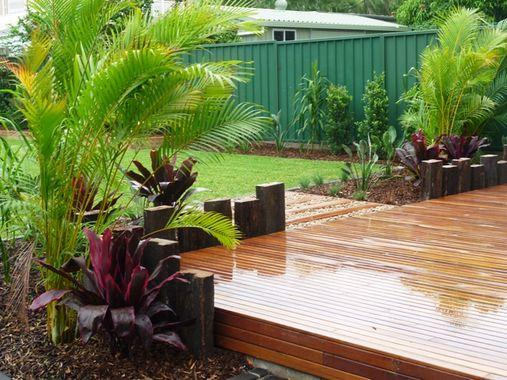 Gardens inspiration creative nature landscape services for Garden decking inspiration
