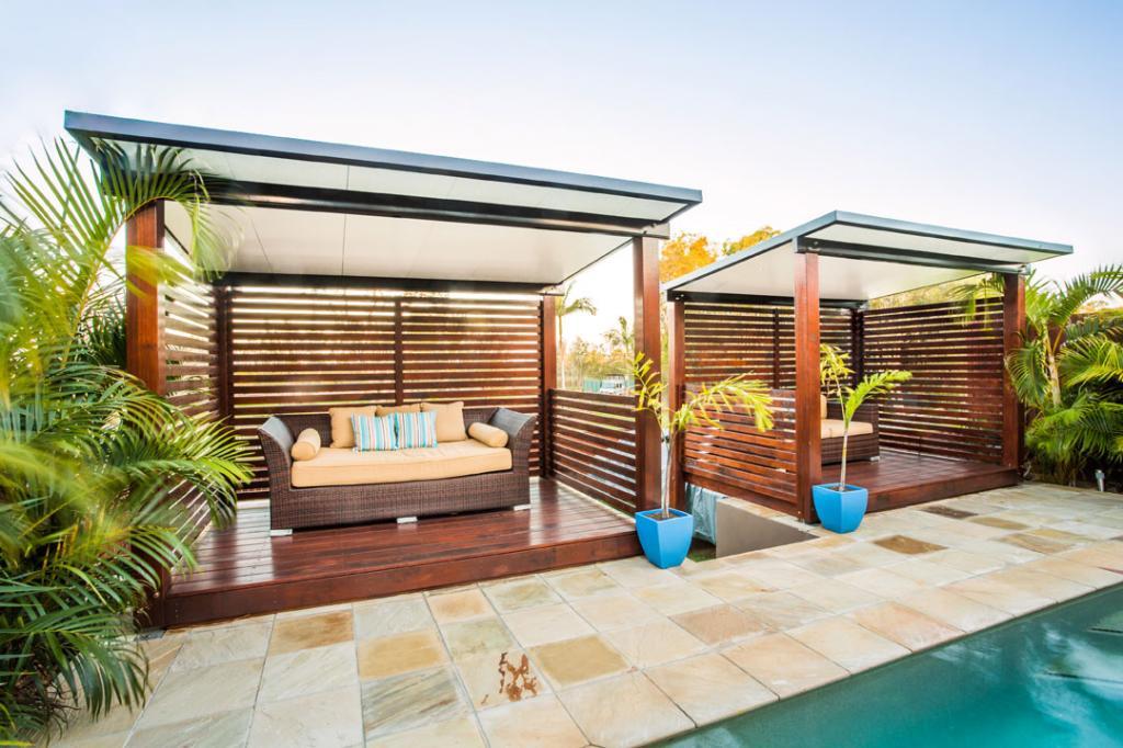 Cabana Patio Rooms Freestanding